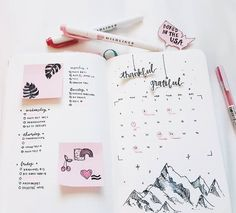 The evolution of my bullet journal in seven pictures. I just filmed a new video, it's a bullet journal flip through detailing all my tips, set-ups, and decorations. if you want to see it click the...