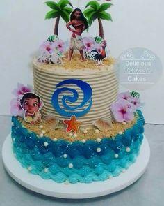 Moans Birthday Party, Moana Theme Birthday, Moana Themed Party, 2 Birthday Cake, Hawaiian Birthday, Moana Party, Birthday Party Themes, Moana Birthday Cakes, 4th Birthday