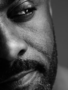 I'd know Idris anywhere. Even if it's only half of his face. It's the eyes.