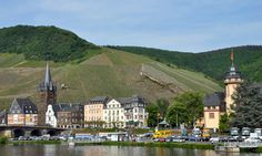 Past Trier heading towards Kitzingen in the heart of the Mosel wine region.
