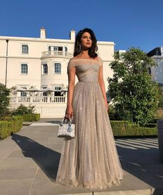 Priyanka Chopra For The Royal Wedding Reception Bollywood Celebrities Actress Indian