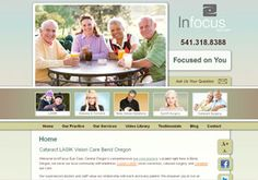 2012 Hermes Creative Gold Award for Website Home Page - InFocus Eye Care (www.infocus-eyecare.com)