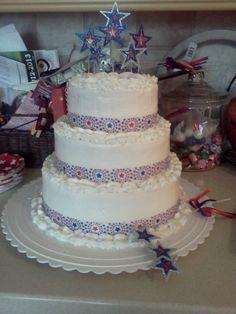 Maggie's FIrst BIrthday Cake