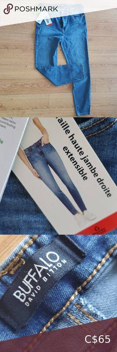 Buffalo daivid women high-rise jeans all information is in the pictures Buffalo David Bitton Jeans High Rise Girlfriend Jeans, Mom Jeans, Women's High Rise Jeans, Polo Ralph Lauren Shoes, Black Denim Jeans, Black Men, Buffalo, Sunglasses Women, David
