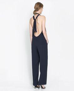 BACKLESS JUMPSUIT - Dresses - Woman | ZARA United States