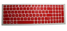 Red Tanslucent Ultra Thin Silicone Keyboard Protector Cover Skin for 15.6 Inch Samsung Series 3 NP300E5A NP300E5C NP300V5A NP305E5A NP305V5A - US Layout Compatible Models Listed in Product Description