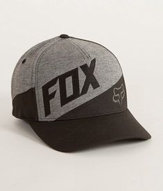 Fox Conjuction Stretch Hat - Men s Hats in Black  0af1b0901ae
