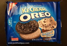 Review: Limited Edition Cookies n' Creme Ice Cream Oreo & HELP ...