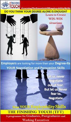 Hone your #employability #skills...