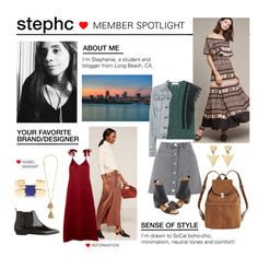 """Member Spotlight: StephC"" by polyvore ❤ liked on Polyvore featuring Miss Selfridge, Tracy Reese, Valentino, rag & bone, BAGGU, FOSSIL, MM6 Maison Margiela, Reformation and Isabel Marant"