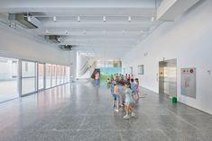 三民幼儿园,台湾 / Fieldevo design studio + LinBoYang Architects - 谷德设计网 Kindergarten, Indoor, Studio, Design, Interior, Kindergartens, Studios, Preschool