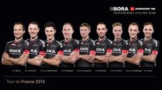 We proudly present our 9 @BoraArgon18 riders for @letour:  http://bora-argon18.com/tour   #TDF2015