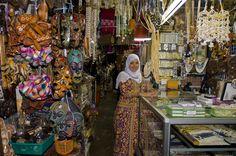 The craft market in Kota Kinabalu in Malaysian Borneo. by ty sawyer