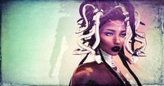Medusa the Goddess of Wisdom, of Death and Renewal (Chioma Namiboo Jinn) Tags: dreadlocks african afro goddess sl secondlife ankh medusa deity dred mythical locs slphotography secondlifephotography slwindlight slmarketplace secondlifeculture Medusa Hair, Medusa Tattoo, Black Women Art, Black Art, Medusa Snake, African Goddess, Ink Addiction, Orisha, World Best Photos