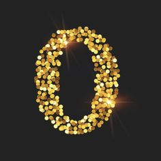 Number shape filled with sparkle objects to gain the effect of number 0 being composed of sparkles with Art Text 4. #typography #lettering #graphicdesign #texteffect #textstyle #typographygraphics #wordart #arttext #sparkles #sparkleeffect #sparkletext #shinetext