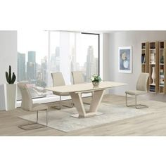 Lorgato Grey High Gloss Extending Dining Table   160cm To 220cm | Italian  Dining Room Furniture | Pinterest | High Gloss, Dining And Tables