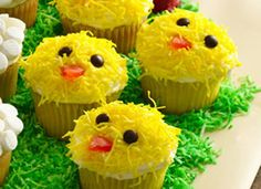 Easter Chicks Cupcakes - Very Cute