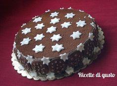 come decorare la torta pan di stelle