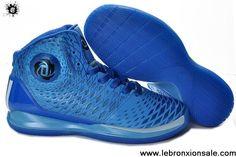 Latest Listing Adidas AdiZero Derrick Rose 3.5 Game Royal Blue Basketball 2013 Shoes Basketball Shoes Store