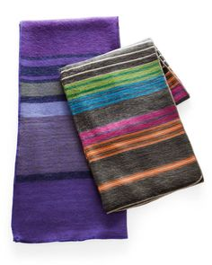 Made from Peruvian Alpacas fibers, these blankets are luxuriously soft and warm; making them must have accessories for those chilly nights indoors.