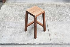 Legless Bar Stool by