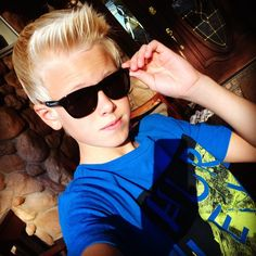 Carson Lueders...See, I don't particularly like him but I really think he has a great voice so I can't NOT put him on my board...