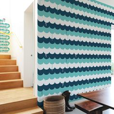 Blik's wall tiles are self-adhesive, movable, and completely customizable,