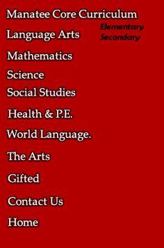 Manatee County Schools Curriculum Team