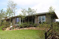 三田の庭2 Orange Farm, Garden Design, House Design, Backyard, Patio, Entrance, Exterior, Landscape, Architecture