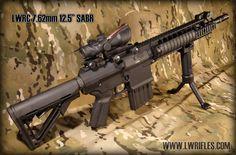 LWRC SABR Sniper Rifle .308