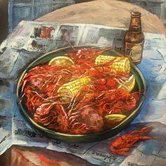 New Orleans Food Featured Images - Crawfish Celebration by Dianne Parks