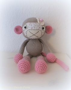 ✣ Affe gehäkelt ✣ von ✣  Smoozly Crochet ✣ auf DaWanda.com
