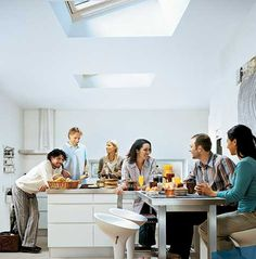 #Skylights provide 30% more light than a similar-sized window! #FunFactFriday