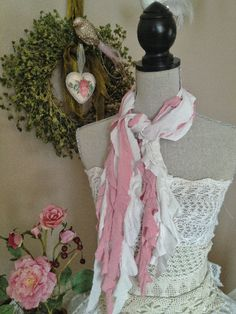 DIY Ruffled Scarf