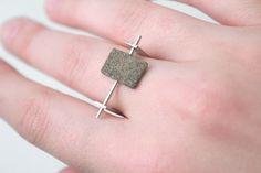 Ágústa Sveinsdóttir crafts jewelry out of a simple material: dust.