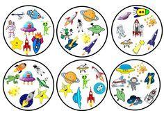 Sur la page d'images, mémoriser le plus d'imagination 444 Space Party, Space Theme, Kindergarten Games, Preschool Activities, Double Game, English Games, Sistema Solar, Science For Kids, Toddler Preschool