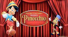 Prossimi Eventi » Per la prima volta il Teatro Italiano a Salerno. Teatro Italiano Pinocchio