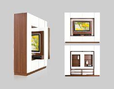 Frames for LCD or Plasma TVs: TV Frame or Room Divider? Both.