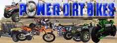 Cheap Scooters, Dirt Bikes, Four Wheelers, Go Karts | Power Dirt Bikes