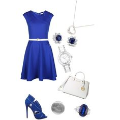 A fashion look from October 2014 featuring Ted Baker dresses, Nine West pumps and MICHAEL Michael Kors handbags. Browse and shop related looks.