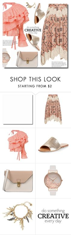 """""""Spot"""" by soks ❤ liked on Polyvore featuring Zimmermann, Rosie Assoulin, New Look, 8, Olivia Burton, Betsey Johnson, WALL and polyvoreeditorial"""