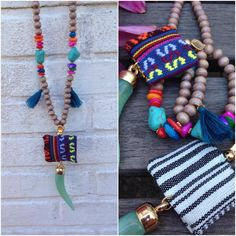 Heerlijke #kettingen met een zomerse touch! Deze en vele andere #sieraden zijn verkrijgbaar op >> www.livly.nl