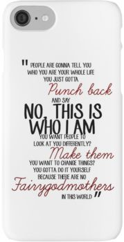Once Upon a Time - Emma swan Quote iPhone 7 Cases