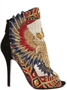 embroidery shoe