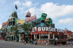 Downtown Niagara Falls, Ontario