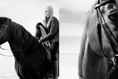 Horse in Fashion by Ditte Isager for Horse Rider's Journal, fall 2012 | http://pegasebuzz.com/leblog