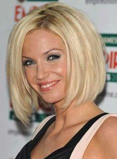 Medium-Length Bob Hairstyle for Blonde