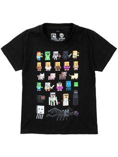 T-shirt, Sort, Kids - KappAhl