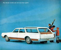 1967 Oldsmobile Vista-Cruiser Station Wagon.