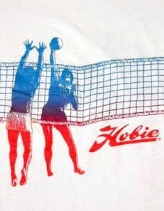 vintage Hobie volleyball